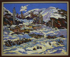 Д.Мамедова. Снежные горы. 2011