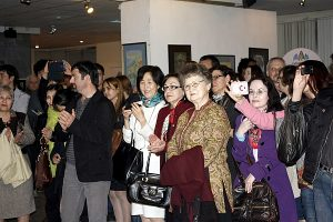 Посетители выставки-1