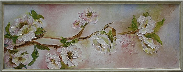 Темиргалиева Н. Цветы яблони. 2014