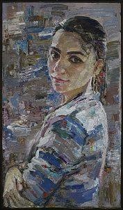 Хамраева У. Портрет Мохиры. 2014
