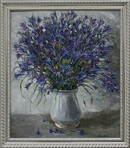 Шоира Кузиева. Полевые цветы. 2009