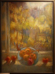 Шахноз Абдуллаева. Осенний натюрморт. 2004