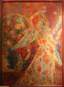 Шахноз Абдуллаева. Танец розы. 2010