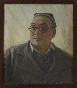 Адылов В. Портрет Х.Рахманова. 1958 (ДХВ)