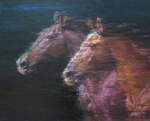 Аликулов Алишер. Лошади. 2014