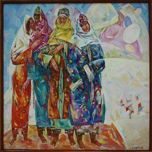 Джураев Эркин. Женщины Байаты. 2013 (Бухара)