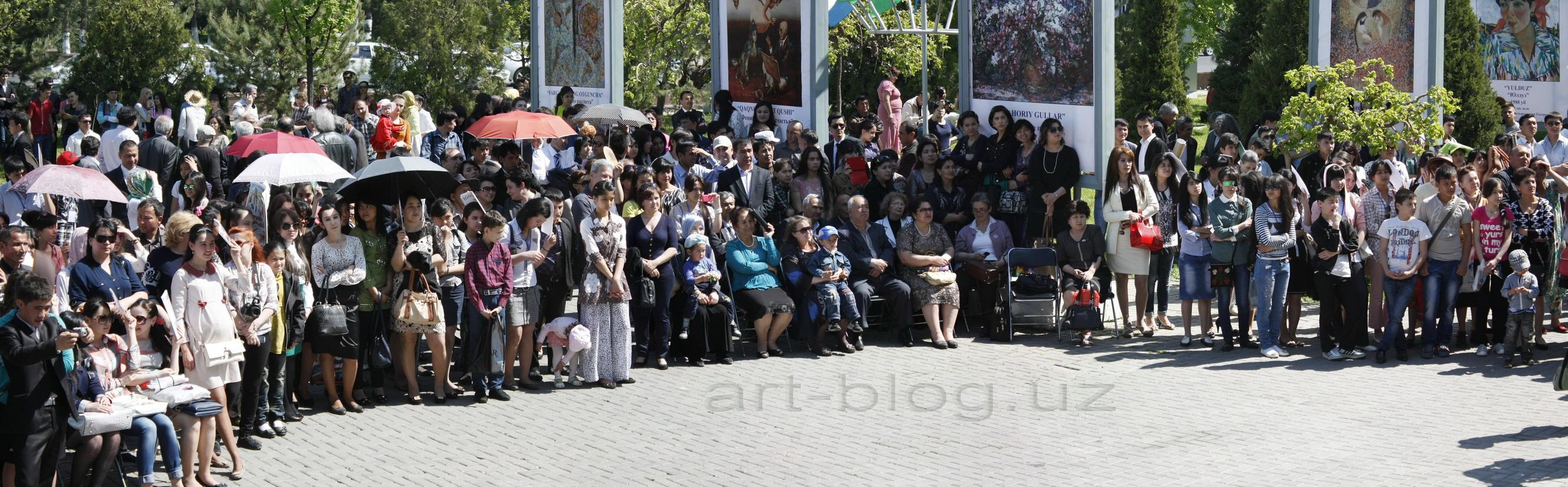 Фестиваль изобразительного искусства Узбекистана 21.04.14