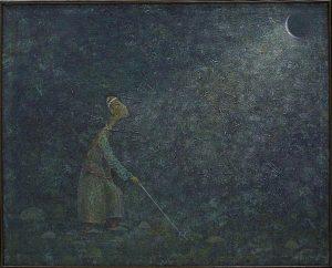Каримов Бунёд. Беспомощный человек. 2014 (Бухоро)