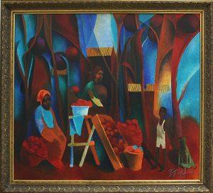 Каримов Тахир. Бахмальские яблоки. 2013