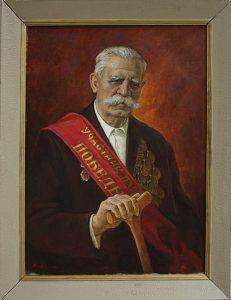 Лысов В. Портрет участника парада победы К.М.Липилина. 1985 (ДХВ)