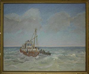 Матевосян Рафаэль. Арал - спасение рыбаков. 2005
