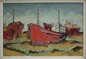 Матевосян Рафаэль. Красные корабли. 1986