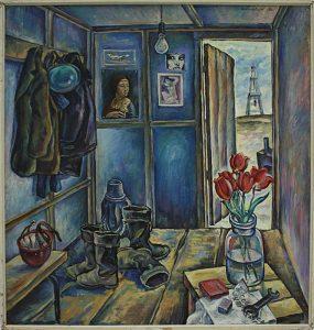 Матевосян Рафаэль. Красные тюльпаны . 1982 (ДХВ)