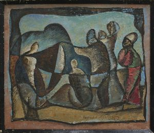 Матевосян Рафаэль. Скорбь. 1988