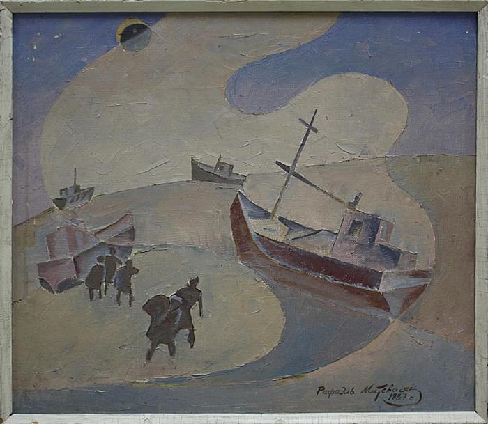 Матевосян Рафаэль. Затмение над Аралом. 1987