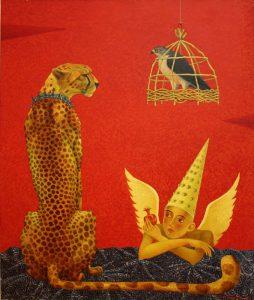 Мухтархан Исанов. Ангел и хищники. 2009