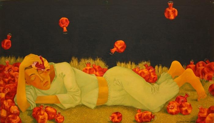 Мухтархан Исанов. Гранатовый рай. 2005