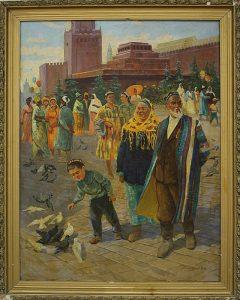 Рахманов Х. Красная площадь. 1972 (ДХВ)