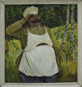 Рахманов Х. Обед готов . 1983 (ДХВ)
