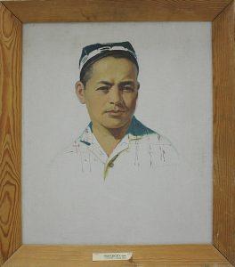 Рахманов Х. Портрет сына . 1981 (ДХВ)