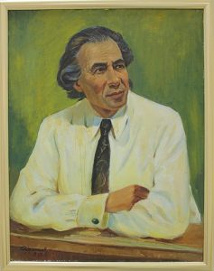 Рахманов Х. портрет поэта Шукурилло