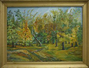 Родин В. Осень в Ташкенте. 2001. (ДХВ)
