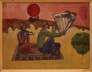 Узакбай Сапаров. Молодой поэт Арала.