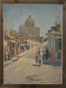 Юрий Зорькин. Старый город. 1950