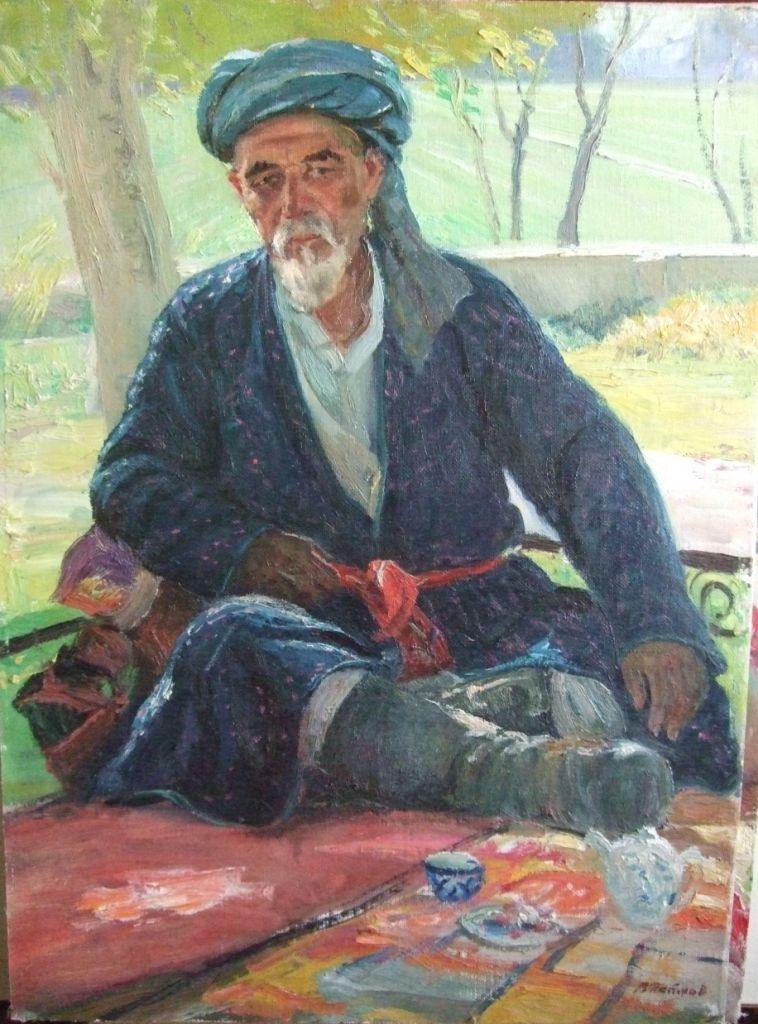 Петров Владимир. Аксакал -1985