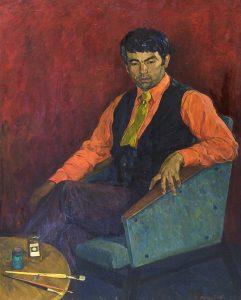 Ахмедов Р. «Портрет художника И. Турсунназарова»
