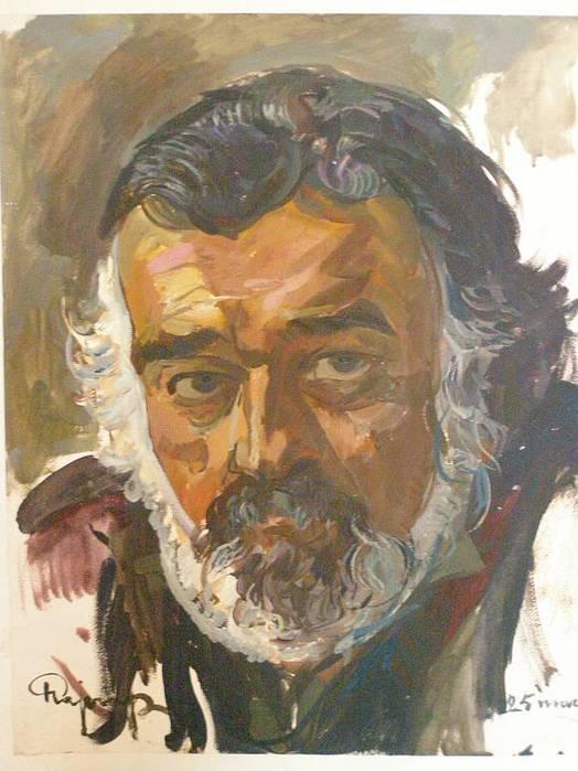 Рузы Чарыев. автопортрет.