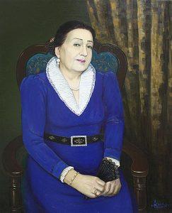 Джалилов Х. Народная артистка Узбекистана Дильбар Икрамова. 2014