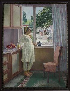 Мухаммадалиев О. Триптих - Молодая мама. 2013