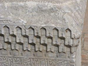 Орнамент на надгробном камне.
