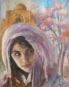 Шувалова Маргарита  «Навруз (девушка)»  60х55 2006 хм