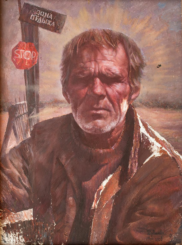 Шувалова Маргарита  Триптих «Российский синдром» 95х72 1990 хм 01
