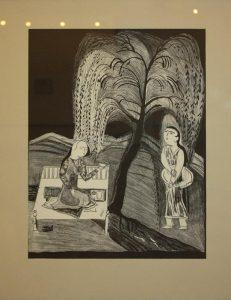 Ибрагимов Леким. Плачущая ива. 1988