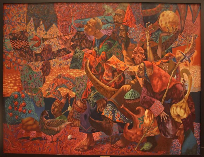 Исмаилов Бабур. Маскарабосы. 1998
