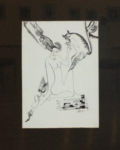 Султанова Гульзор. Белое и чёрное. 2001