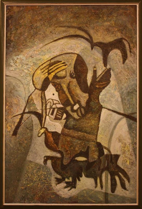 Усеинов Вячеслав. Равновесие жестов. 1996