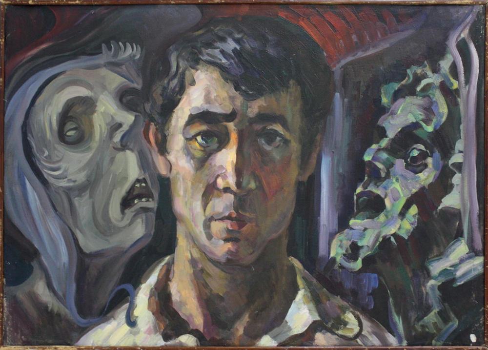 Автопортрет с призраками. 1971-1972