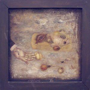Мурад Карабаев. Падающий натюрморт. 2005