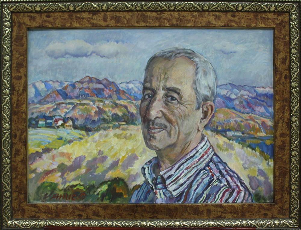 Портрет Уткура Гадаибаева. 2012