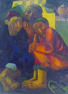 А. Н. Волков - Три мужские фигуры