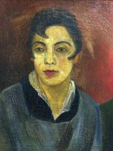 А. Н. Волков- Портрет жены. 1936
