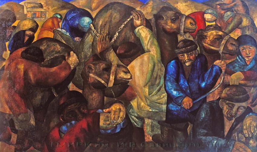А. Н. Волков. Караван. 1926