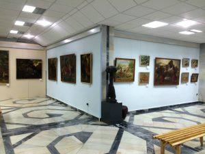 Экспозиция выставки А. Н. Волкова вмузее И. В. Савицкого в Нукусе-2