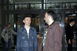 А.Барковский и Т.Рахметов