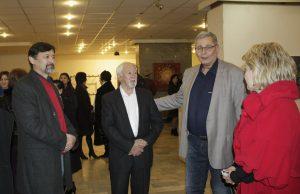 Бабур и Сабир Мухамедов, его друг Николай Мешеряков с супругой