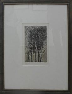 Генри Мур. Деревья II. Воздетые ветви. 1979. Офорт